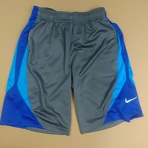 Grey an Blue Nike Shorts Size Medium